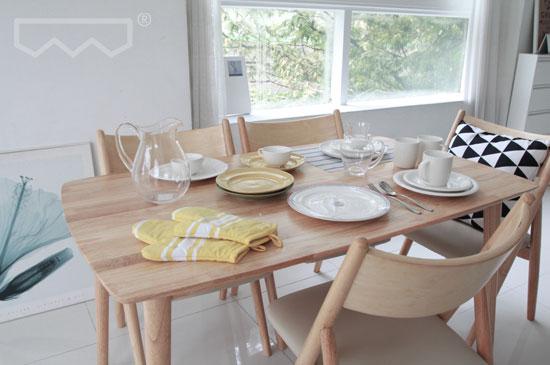 DOICH ® CASAWOOD Dining Set 도이치 까사우드 원목 라운드 NZK 식탁세트 ...