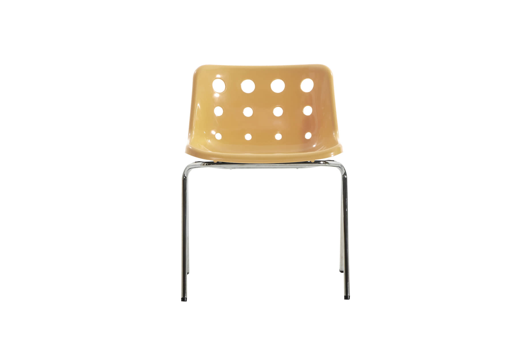 (주)도이치[BRITISHER] POLO chair by Robinday 1972 / chromed leg